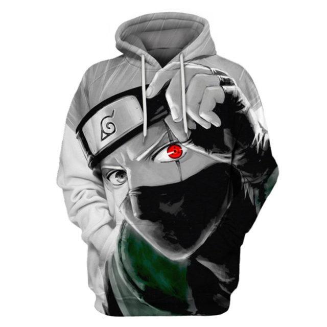 Stylish 3D Print Naruto Unisex Hooded Sweatshirts