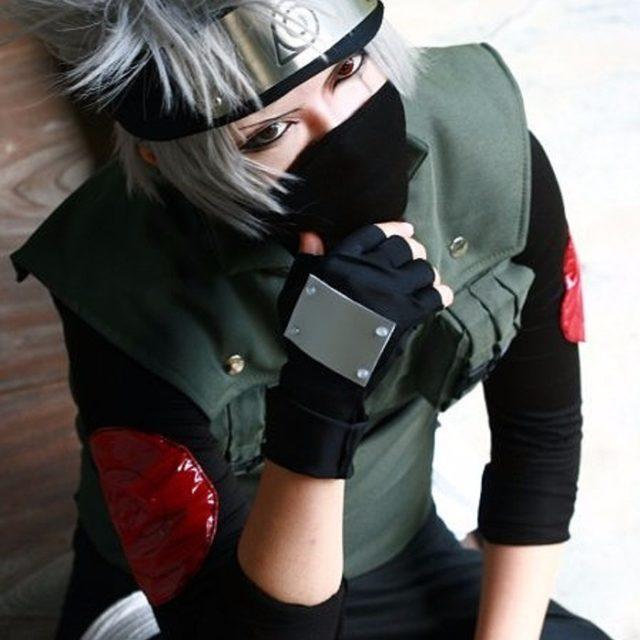 Naruto Kakashi Shinobi Cosplay Vest