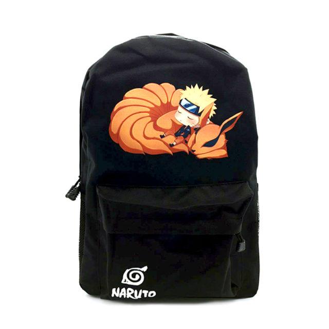Trendy Naruto Hokage Unisex Oxford Backpack