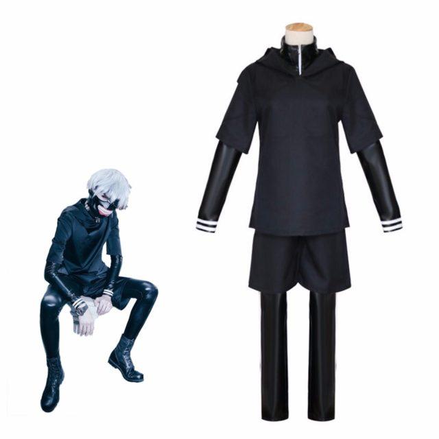 Tokyo Ghoul Kaneki Ken Men's Cosplay Costume