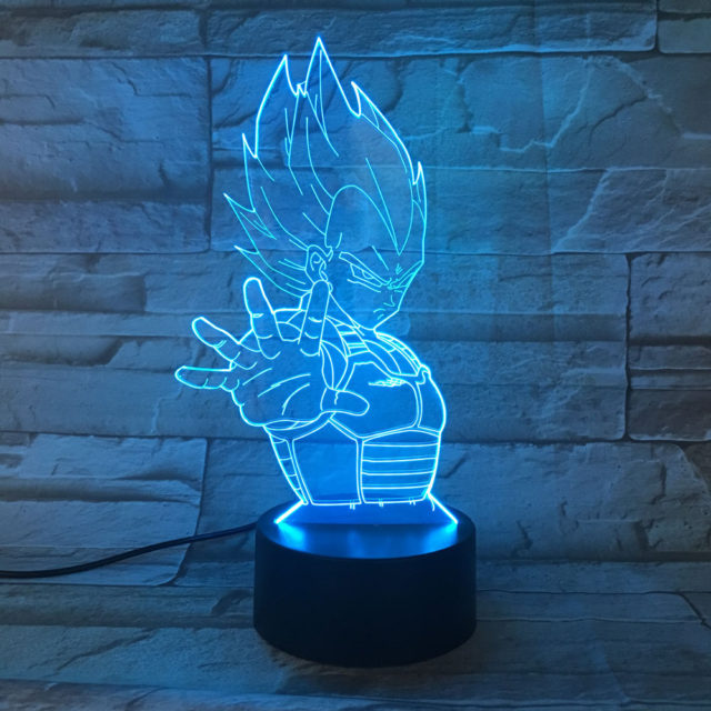 3D Dragon Ball Night Lamp